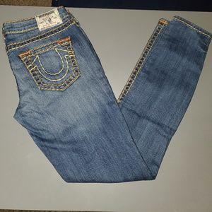 True Religion Skinny Jean. Size 30